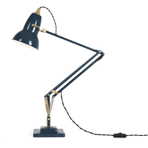 Tischleuchte »Anglepoise Original 1227 Brass Desk Lamp« Ink Blue