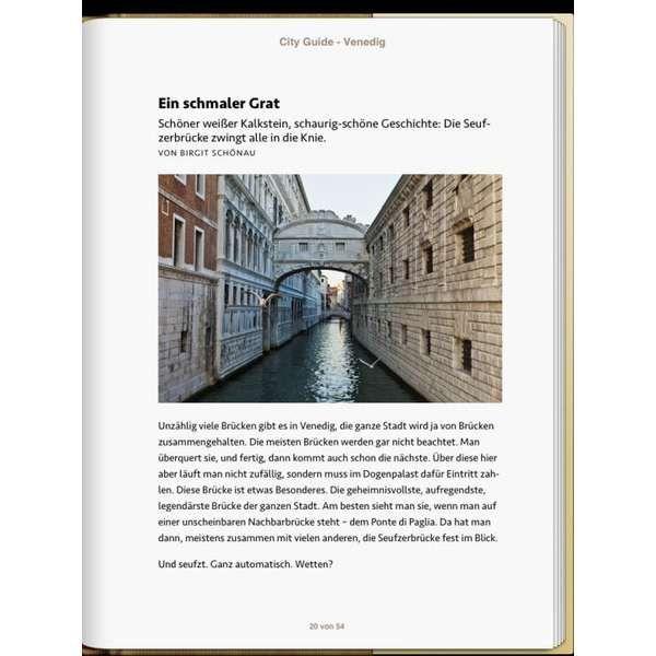 »Venedig - DIE ZEIT CITY GUIDE«