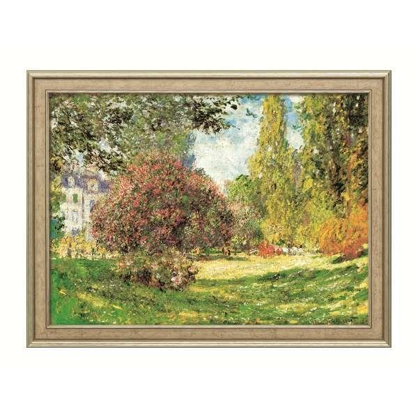 Monet, Claude: »Der Park Monceau«, 1876