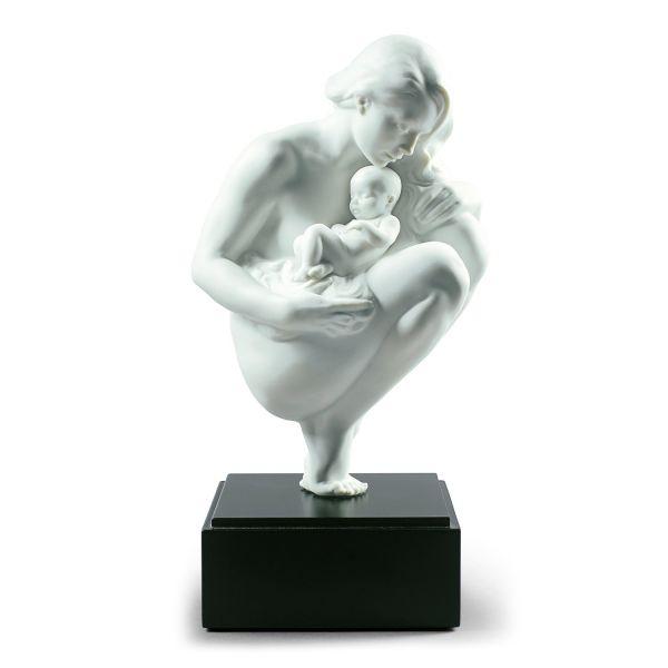 Lladró: Porzellanskulptur »Liebesbande«