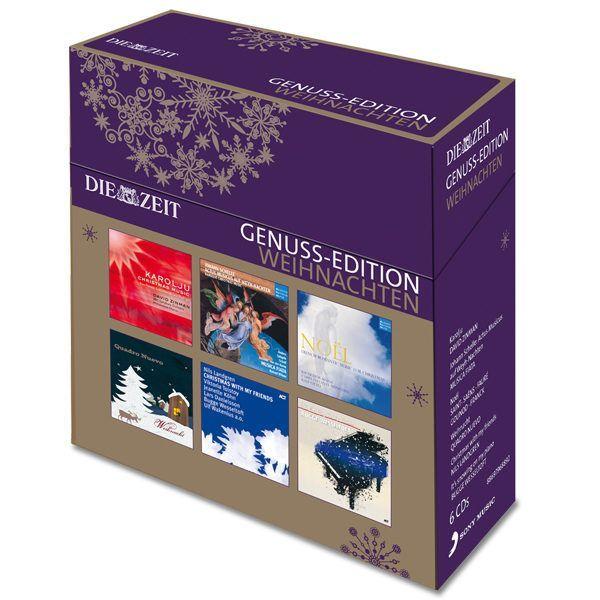6 CDs »Weihnachten« DIE ZEIT Genuss-Momente