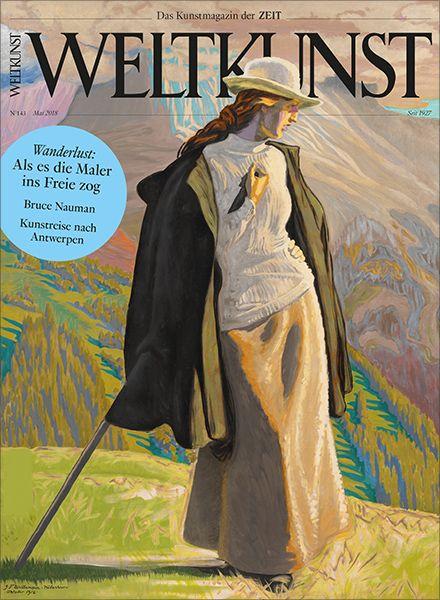 WELTKUNST 143/18 Wanderlust: Als es die Maler ins Freie zog