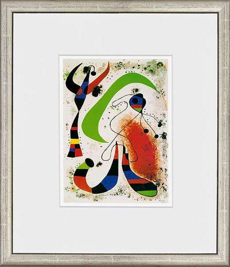 Miró, Joan: »Die Nacht«, »Der blaue Stern«, »Der singende Fisch«