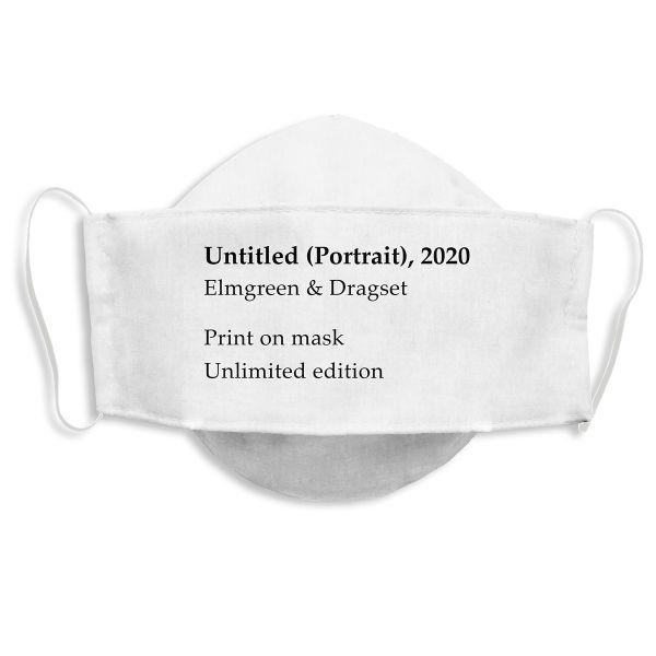 Weltkunstwelt-Maske »Untitled« von Elmgreen & Dragset