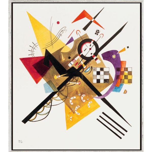 Kandinsky, Wassily: »Entwurf zu 'Auf Weiss II'«, 1922