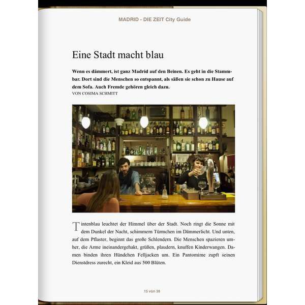 »Madrid - DIE ZEIT CITY GUIDE«