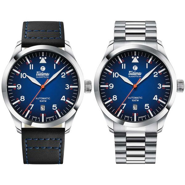 ZEIT-Sonderedition »Flieger Automatic Deep Blue«