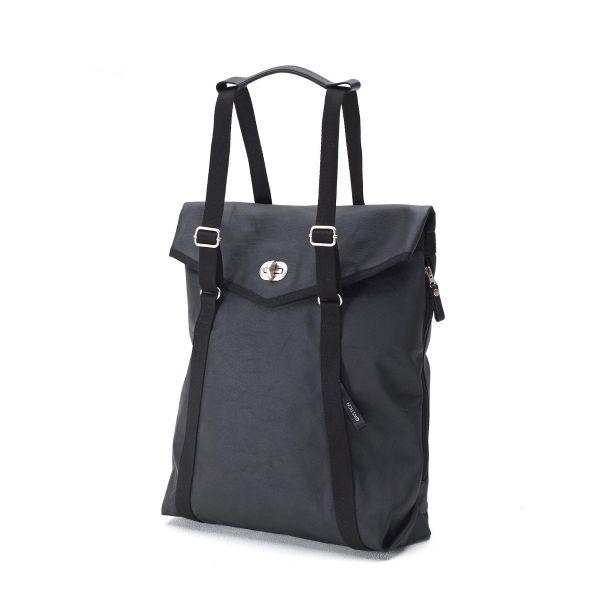 Tote Bag aus Canvas Schwarz