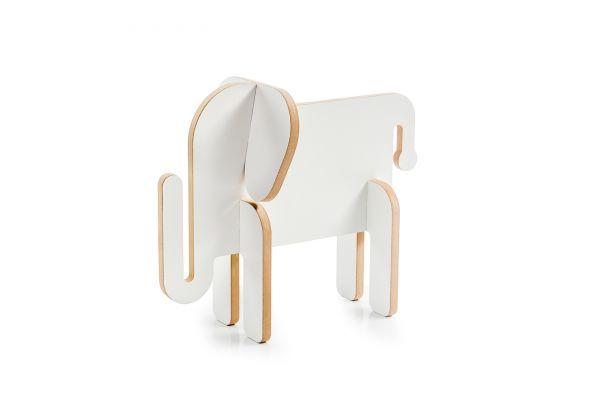 Elefant »Otto« - Holztier zum Bemalen
