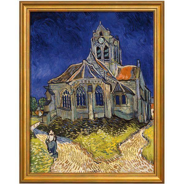 van Gogh, Vincent: »Kirche von Auvers-sur-Oise«, 1890