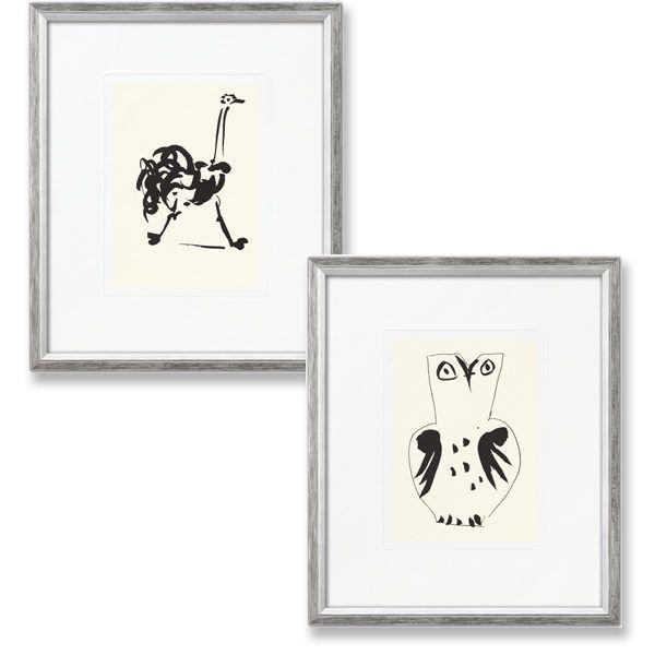 Picasso, Pablo: »Eule« und »Strauß«