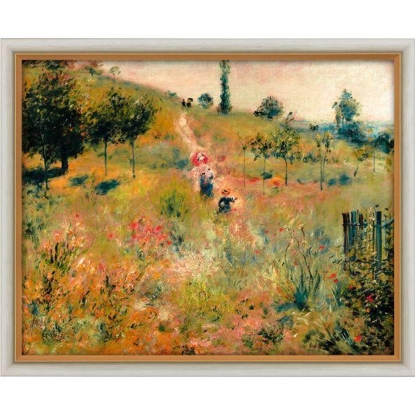 Renoir, Auguste: »Ansteigender Weg durch hohes Gras«, 1876/77