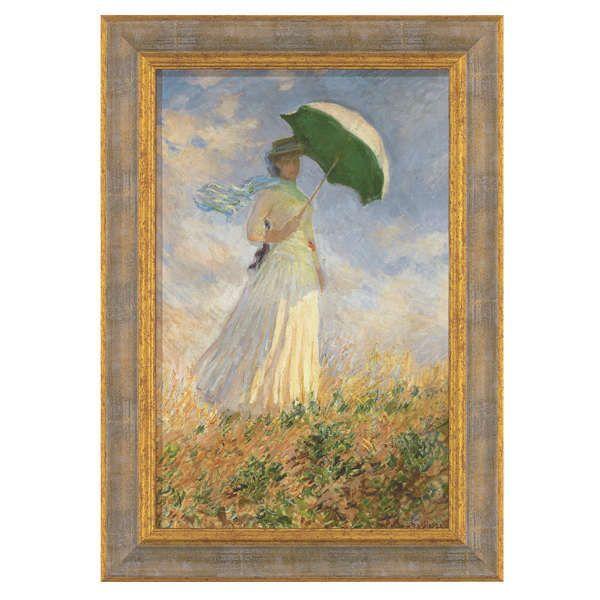 Monet, Claude: »Dame mit Schirm«