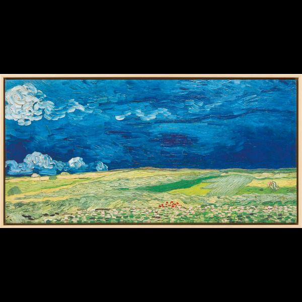 van Gogh, Vincent: »Kornfeld bei Gewitterstimmung«, 1890