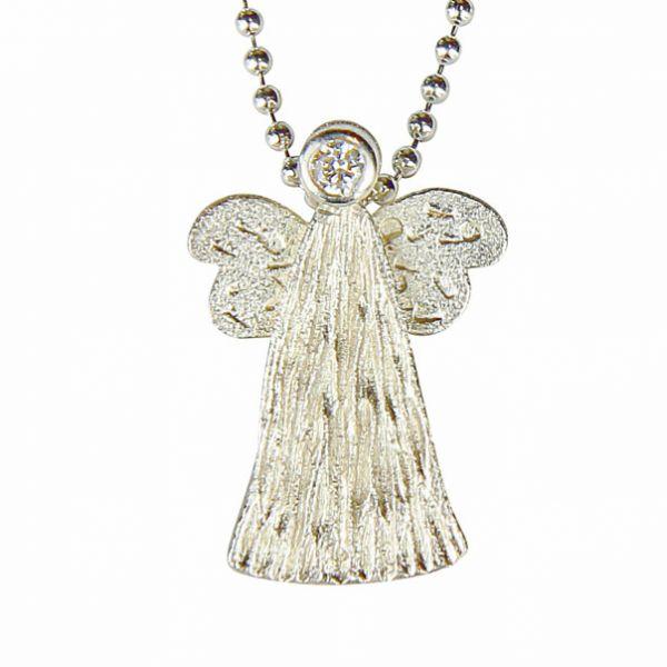 Collier »Silbener Engel«
