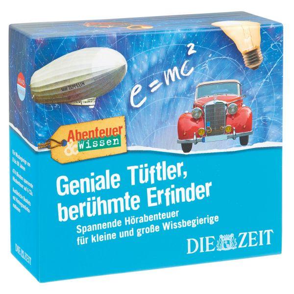 DIE ZEIT Erfinderbox »Geniale Tüftler, berühmte Erfinder«
