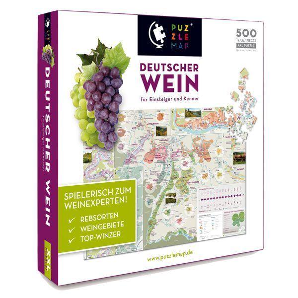 PuzzleMap »Deutscher Wein« – Spielerisch zum Weinexperten