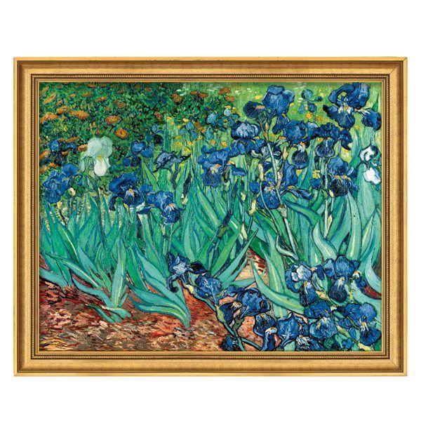 van Gogh, Vincent: »Iris (Schwertlilien)«