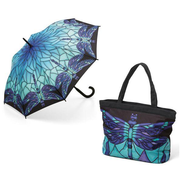 Tasche und Stockschirm »Dragonfly«
