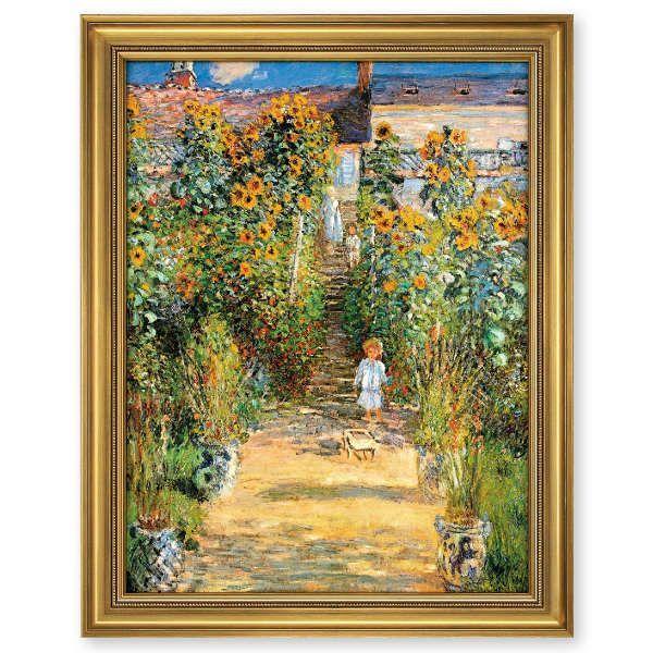 Monet, Claude: »Le jardin de Monet à Vétheuil«, 1881