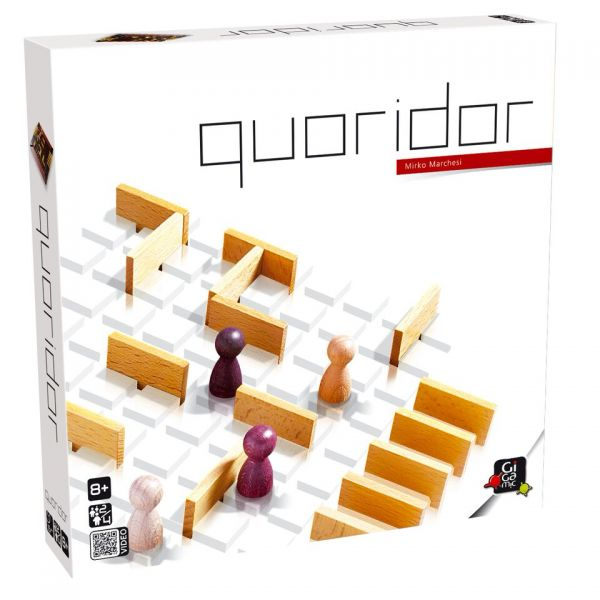 Strategiespiel »Quoridor«