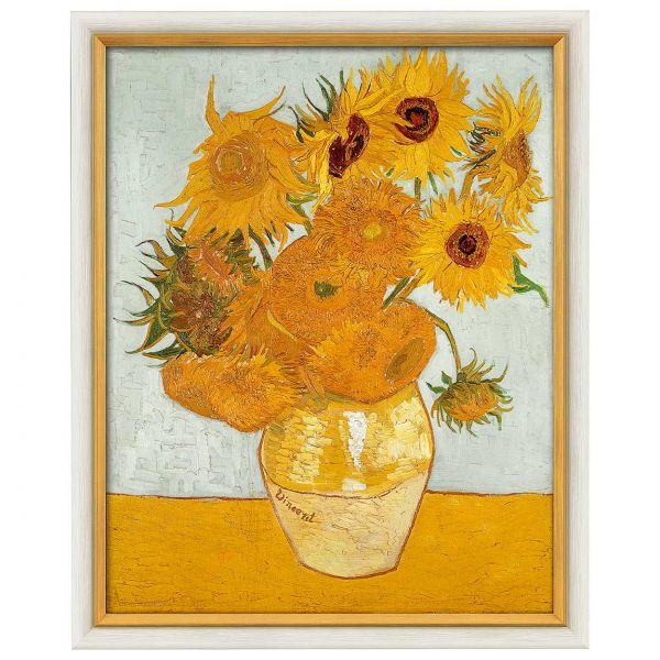van Gogh,Vincent: »Zwölf Sonnenblumen in einer Vase«, 1888
