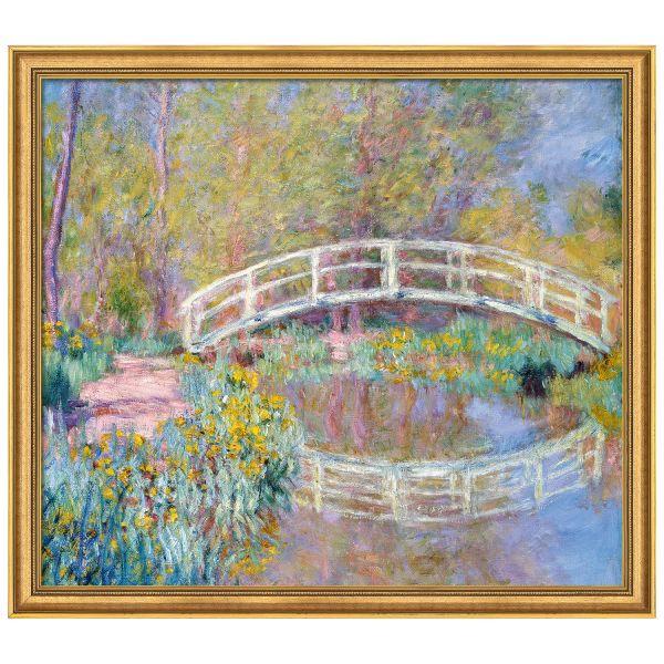 Monet, Claude: »Brücke in Monets Garten«, 1900