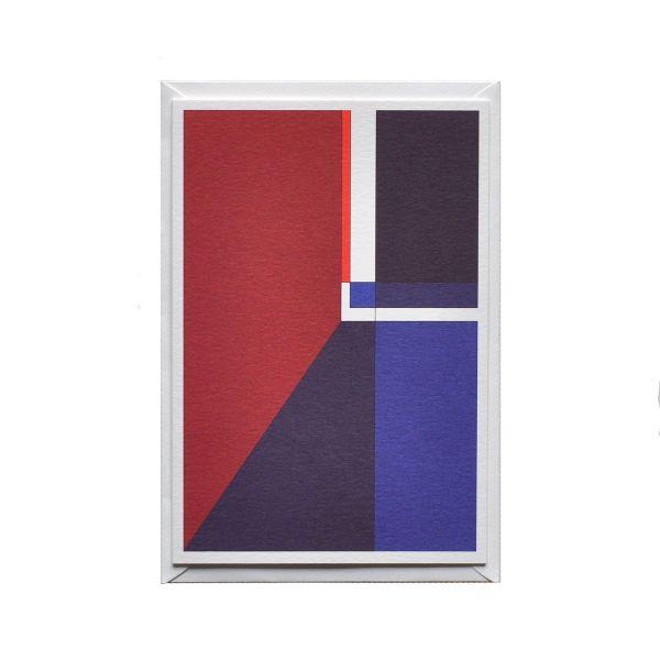 Männergeschenkset: Einstecktuch & 3er-Set Grußkarten »Marseille«