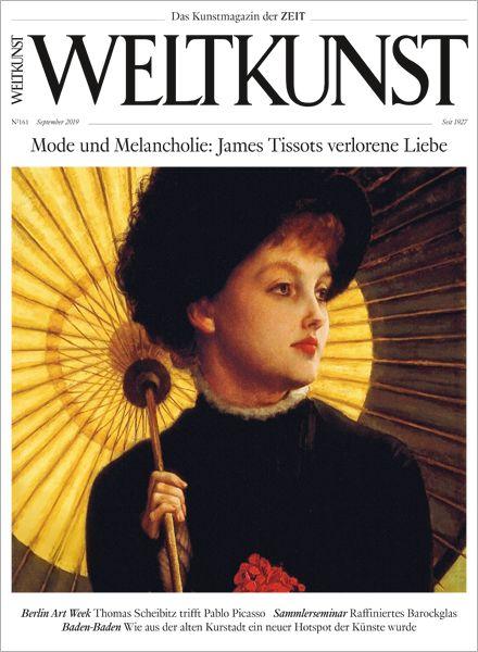 WELTKUNST 161/19 Mode und Melancholie: James Tissots verlorene Liebe