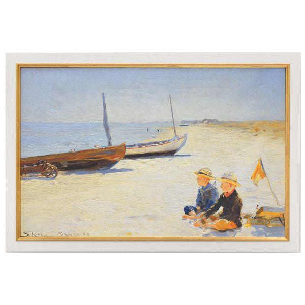 Krøyer, Peder Severin: »Jungen am Strand von Skagen«, 1893