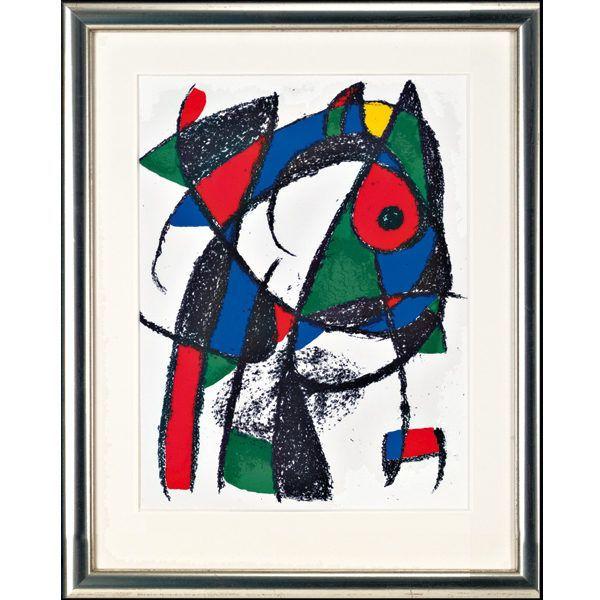 Miró, Joan: »O. T. (Motiv Katze I)«