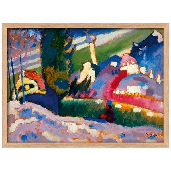 Kandinsky, Wassily: »Winterlandschaft mit Kirche«, 1910-1911
