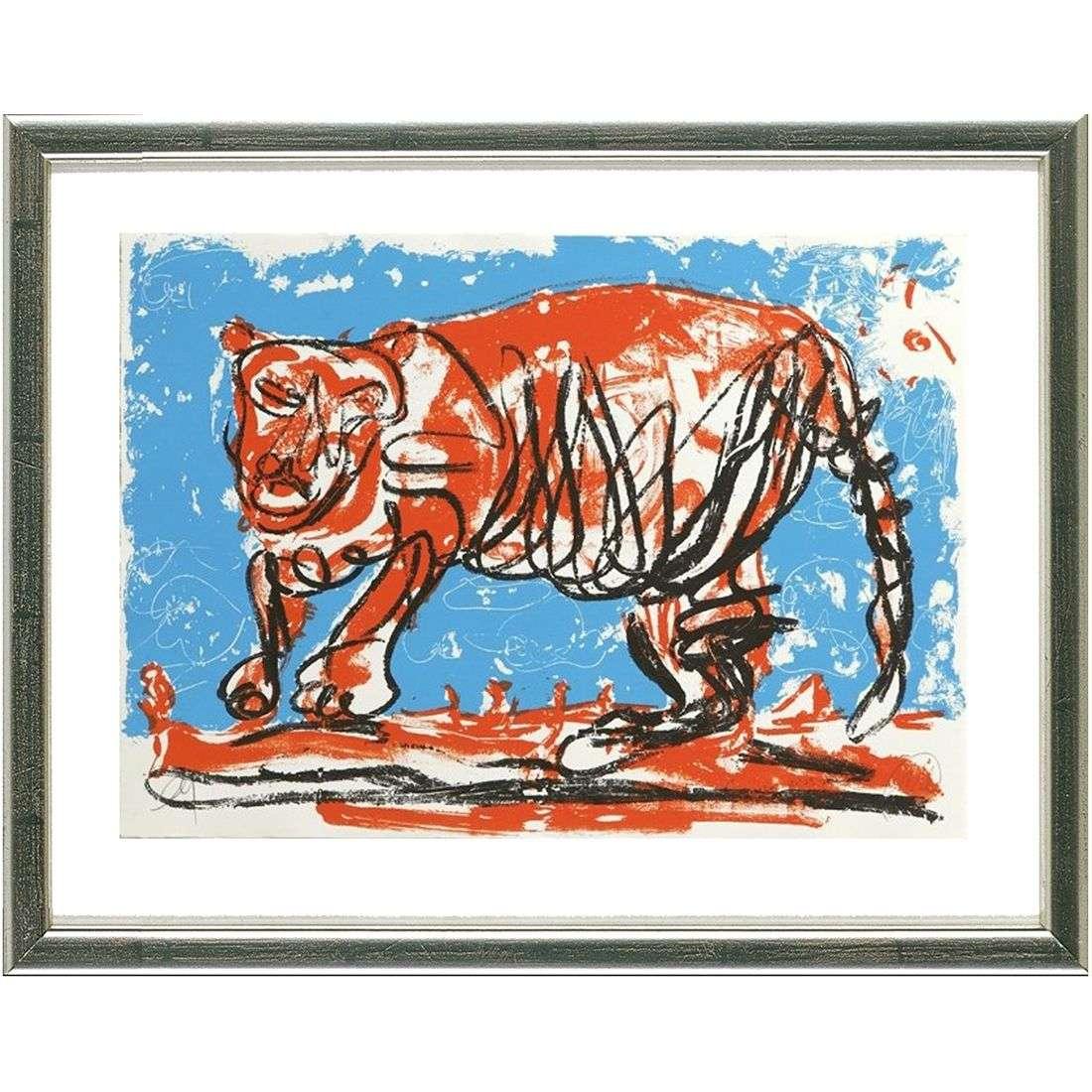 Lüpertz, Markus: »Tiger«, ca. 2000 | Originalgrafiken | Kunst ...