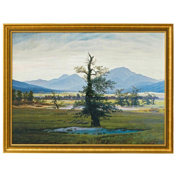 Friedrich, Caspar David: »Der einsame Baum«, 1821