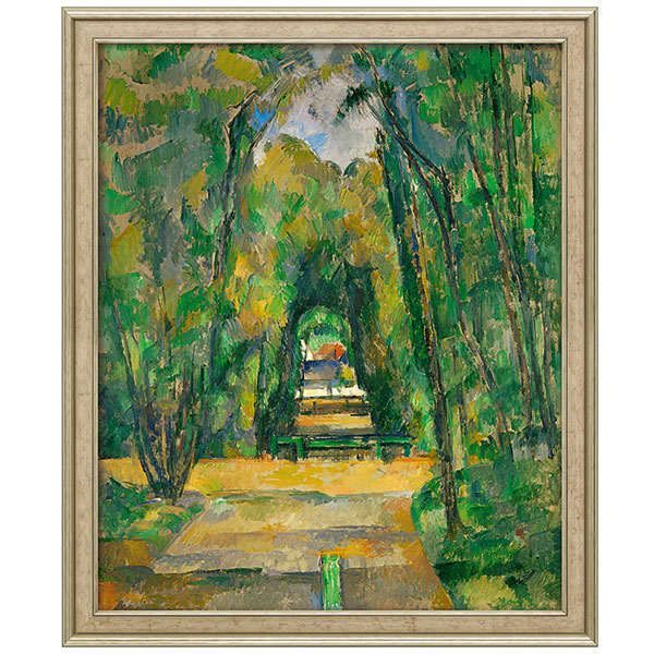Cézanne, Paul: »Médan, château et village (Schloss und Dorf Médan)«, 1885