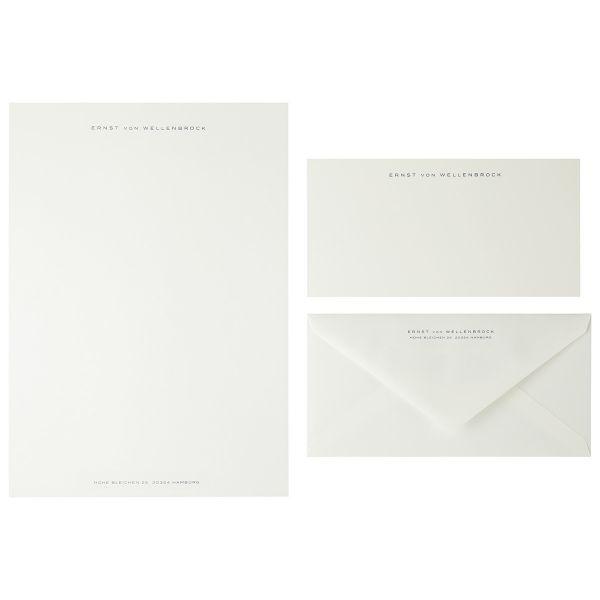 Briefpapier Miniformat, Dunkelblau