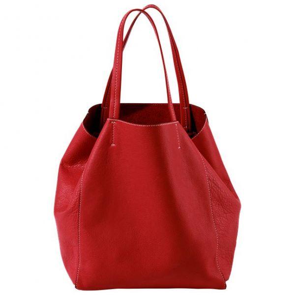 ZEIT-Tasche »Cep« Tomatenrot