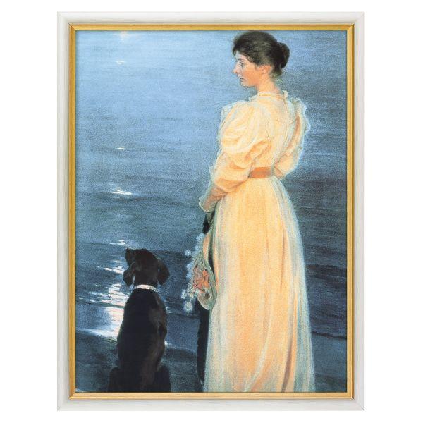 Krøyer, Peder Severin: »Sommerabend bei Skagen«, 1892