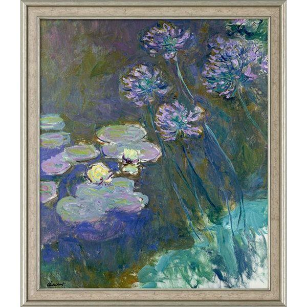 Monet, Claude: »Gelbe Seerosen und Agapanthus«, 1914-1917