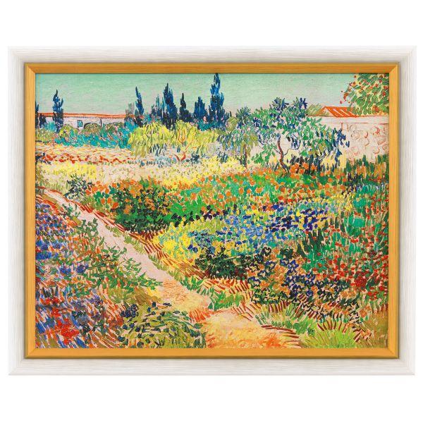 van Gogh, Vincent: »Blühender Garten mit Pfad«, 1888
