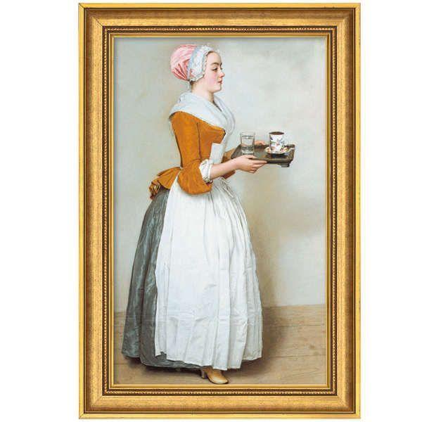 Liotard, Jean-Étienne: »Das Schokoladenmädchen«, 1743–45