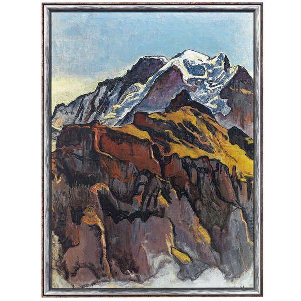 Hodler, Ferdinand: »Jungfrau von Mürren«, 1911