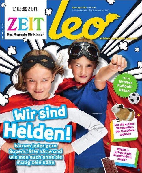 ZEIT LEO 2/15 Wir sind Helden!