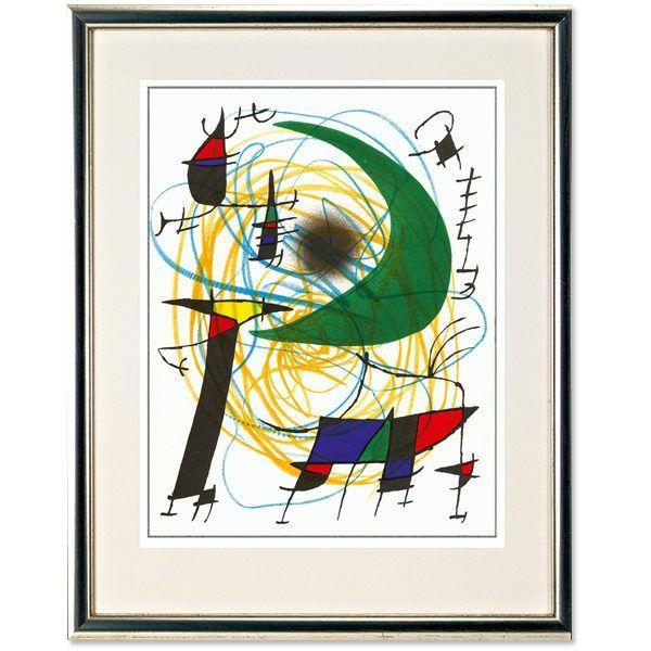 Miró, Joan: »O. T. (Grüner Mond)«