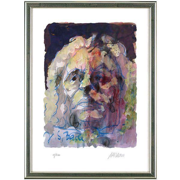 Mueller-Stahl, Armin:»Portrait Johann Sebastian Bach«, 2014