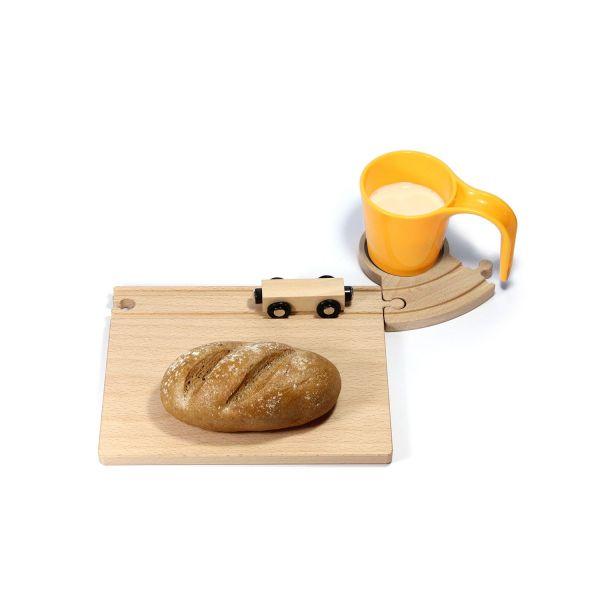 Frühstücksbrett Eisenbahn