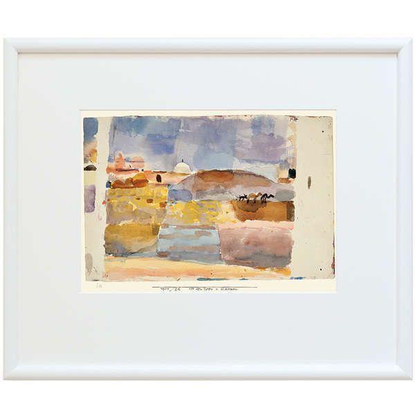 Klee, Paul: »Vor den Toren von Kairuan«, 1914