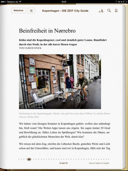 »Kopenhagen - DIE ZEIT City Guide«