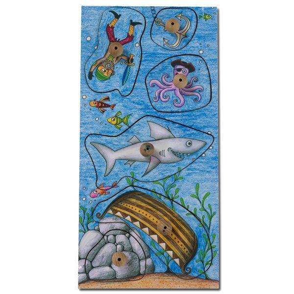 Stempelsets »Wasserschloss« und »gefährliche Fische«