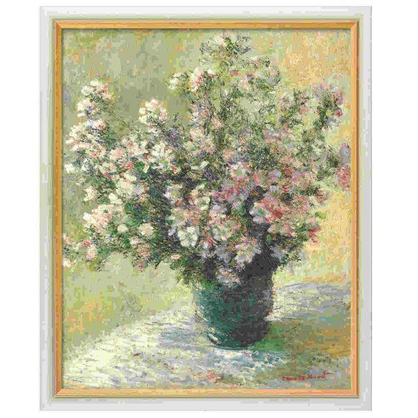 Monet, Claude: »Vase à Fleurs – Malvenstrauß«, 1881/82